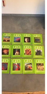 Geo Hefte komplett Jahrgang 1979