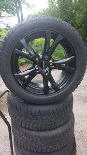 Alufelgen mit Winter Reifen