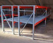 Schwerlastregale Palettenregale mit verzinkten Gitterböden