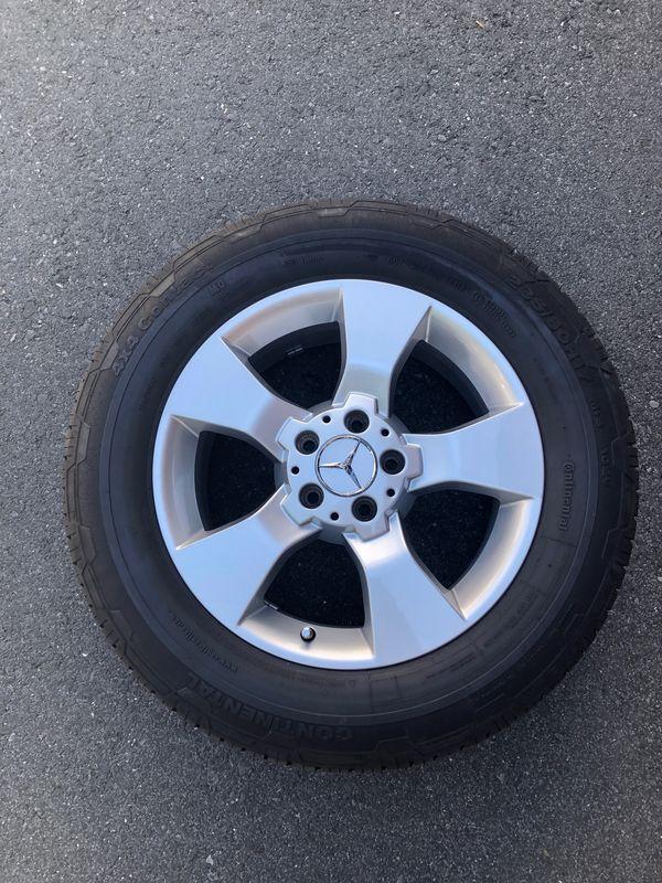 Mercedes GLK Felgen mit Reifen