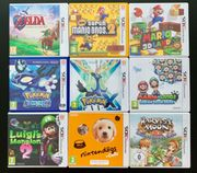Nintendo 3DS Spiele - auch einzeln