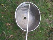 Edelstahl Behälter für Grill bauen