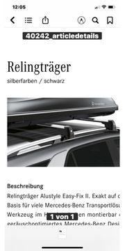 Orginal Relingträger Mercedes-Benz GLE SUV -
