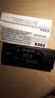 Guitar Tuner GT-3 von Korg