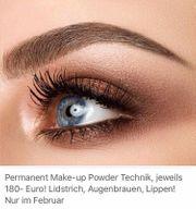 Permanent Make-up Powder Technik
