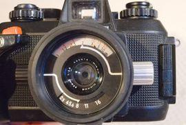 Foto und Zubehör - Nikon Unterwasserkamera Nikonos IV-A mit