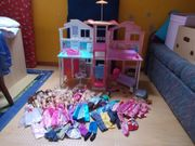 Großes Barbie Haus Stadthaus 3