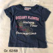T-shirt Größe 62 68