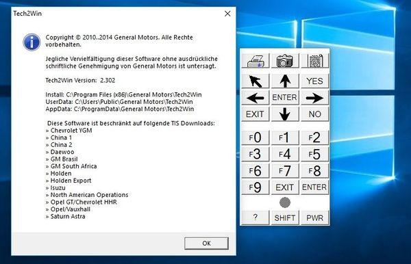 Tech2 & Tech2Win Version 2 302 Card Bin Files Opel DE-EN-FR-IT in