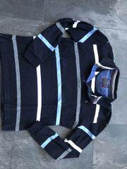 Armas Poloshirt gr L blau