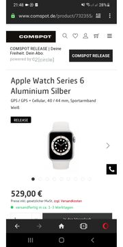 Apple Watch Series 6 Cell