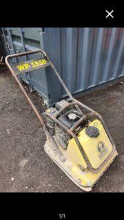 Rüttelplatte Wacker WP1550 zu vermieten