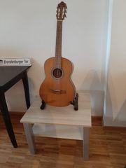Gitarre inkl Stellgestell