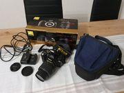 Spiegelreflexkamera Nikon D60 AF-S Nikkor