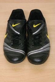 Fußballschuhe Nike schwarz grau gelb -