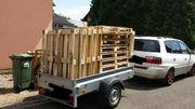 Suche Brennholz Paletten oder anderes