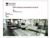 SAP Inhouse Consultant m w