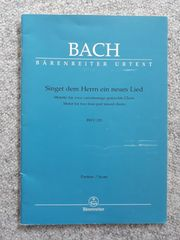 J S Bach - Singet dem