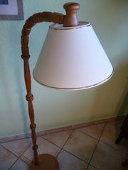 Stehlampe Stehleuchte Holz Kiefer