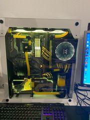 Custom Gaming PC wassergekühlt