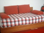 Komplettes Bett Jugendbett Einzelbett Gästebett