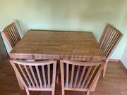 Ikea Esstisch mit 4 Stühlen