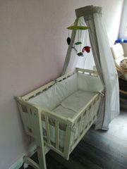 Alvi Babywiege Babybett Stubenwagen
