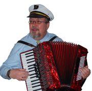 Akkordeonspieler Schifferklavier Live-Musik oder Ständchen