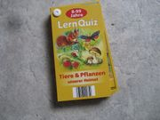 Lern Quiz Tiere und Pflanzen