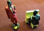 2x Jazz Klavier Musiker Spieler