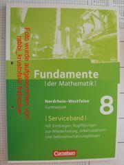 Fundamente der Mathematik 8 Nordrhein-Westfalen