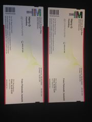 2 Tickets für Harry G