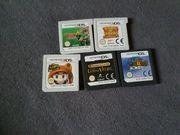 Ds 3DS spiele Paket NUR