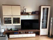 Hochwertige Wohnzimmerwand mit Sideboard
