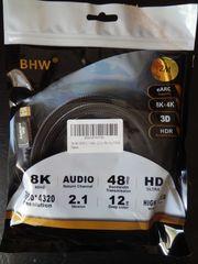 HDMI Kabel 2 1 Premium