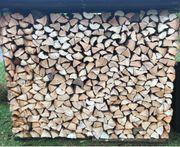 Brennholz Fichte Tanne - trocken - ofenfertig