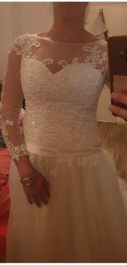 Ungetragenes Hochzeitskleid Gr 38