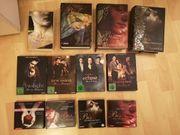 Twilight Saga Bücher und DVDs