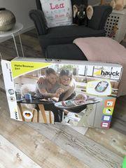 Babyaufsatz Hochstuhl Hauck inkl Wippe
