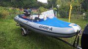 Wiking Schlauchboot Motorboot 35 PS
