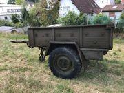 Traktor Anhänger Unimog Schlepper