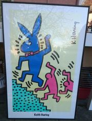 Keith Haring Gerahmt 93 cm