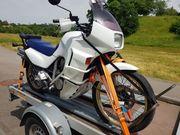 Motorrad aufm Hänger