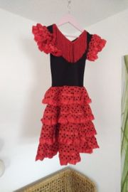 Flamenco Kleid Gr 110-116