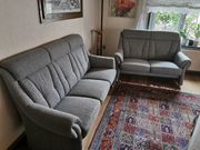 Hochwertige Couchgarnitur Sessel 2er-Sofa 3er-Sofa