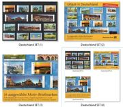 Deutsche Post 3 Original-Steckkarten 2012-2014