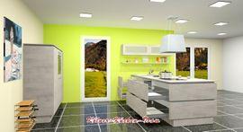 Küchenzeilen, Anbauküchen - Nobilia Moderne Grifflose KÜCHE 280