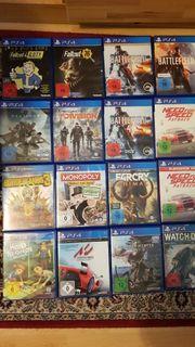 Verkaufe Playstation4 Spiele Top zustand