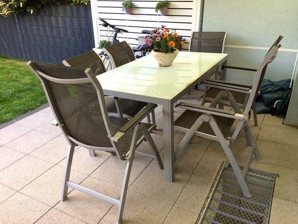 Gartenmobel Set Tisch Mit 6 Stuhlen In Mannheim Kaufen Und