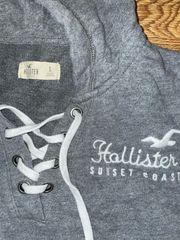 grauer Pullover von Hollister mit